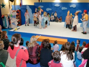Gijón, enjoying Christmas with children!!